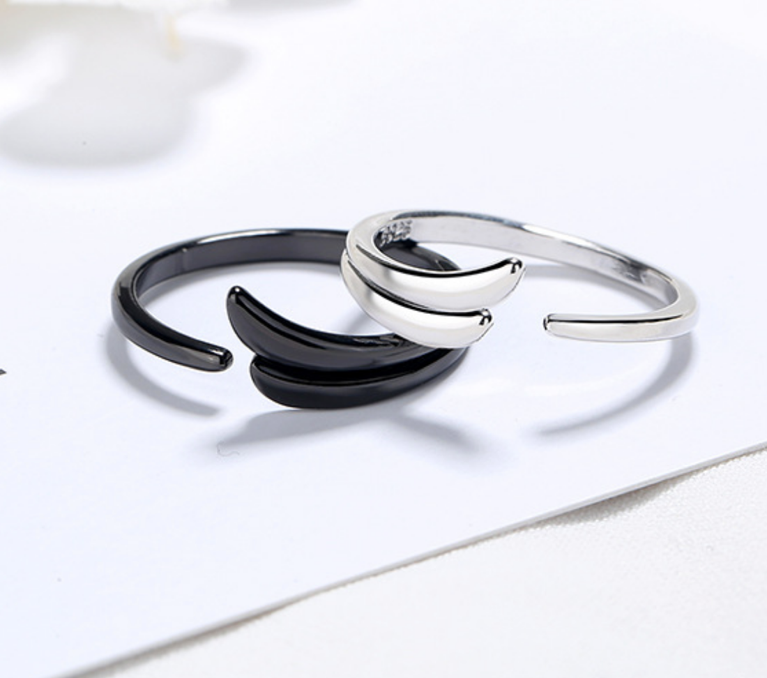 Silver Wave Small Ring