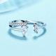 Tear Drop Crystal Ring