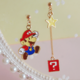 Super Mario Dangle Earring