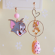 Tom and Jerry Dangle Clip On Earring