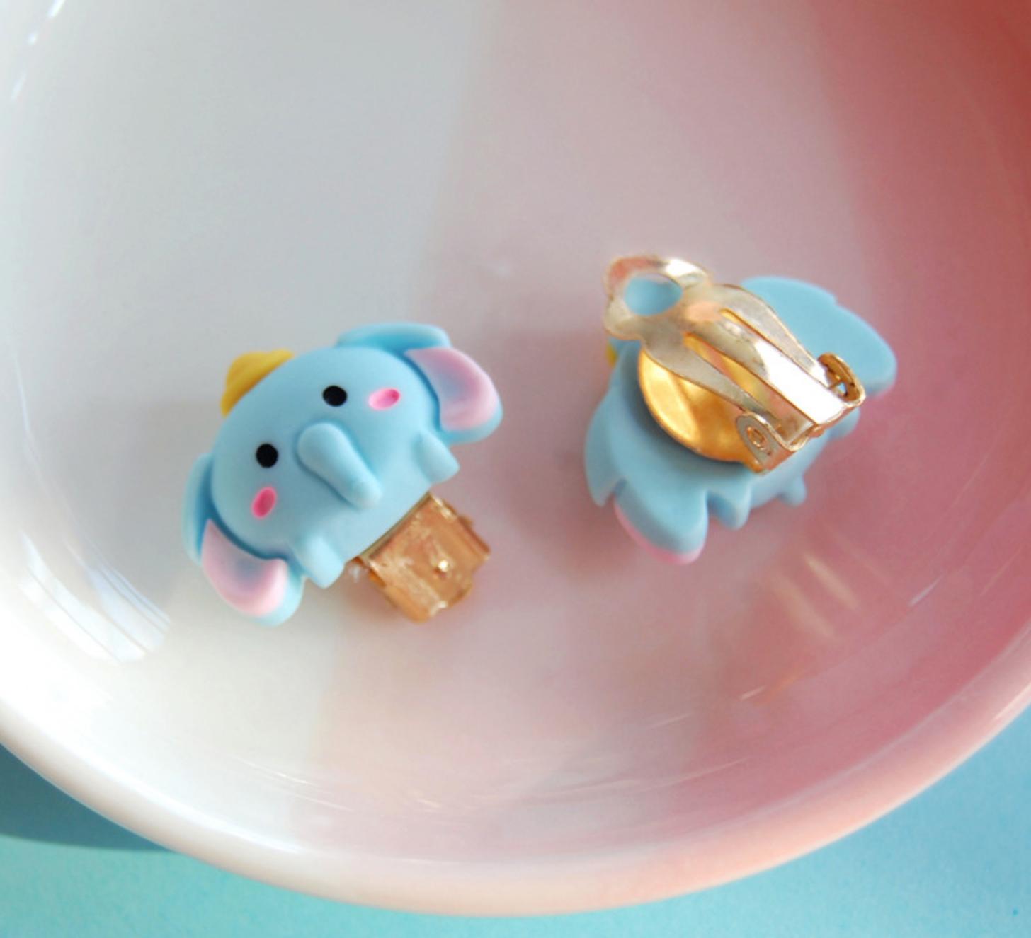 Dumbo Clip On Earring