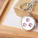 Pink Paw Scent Keychain