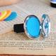 Fairy Blue Scent Car Pin