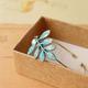Bronze Leaf with Pearl Vintage Bracelet