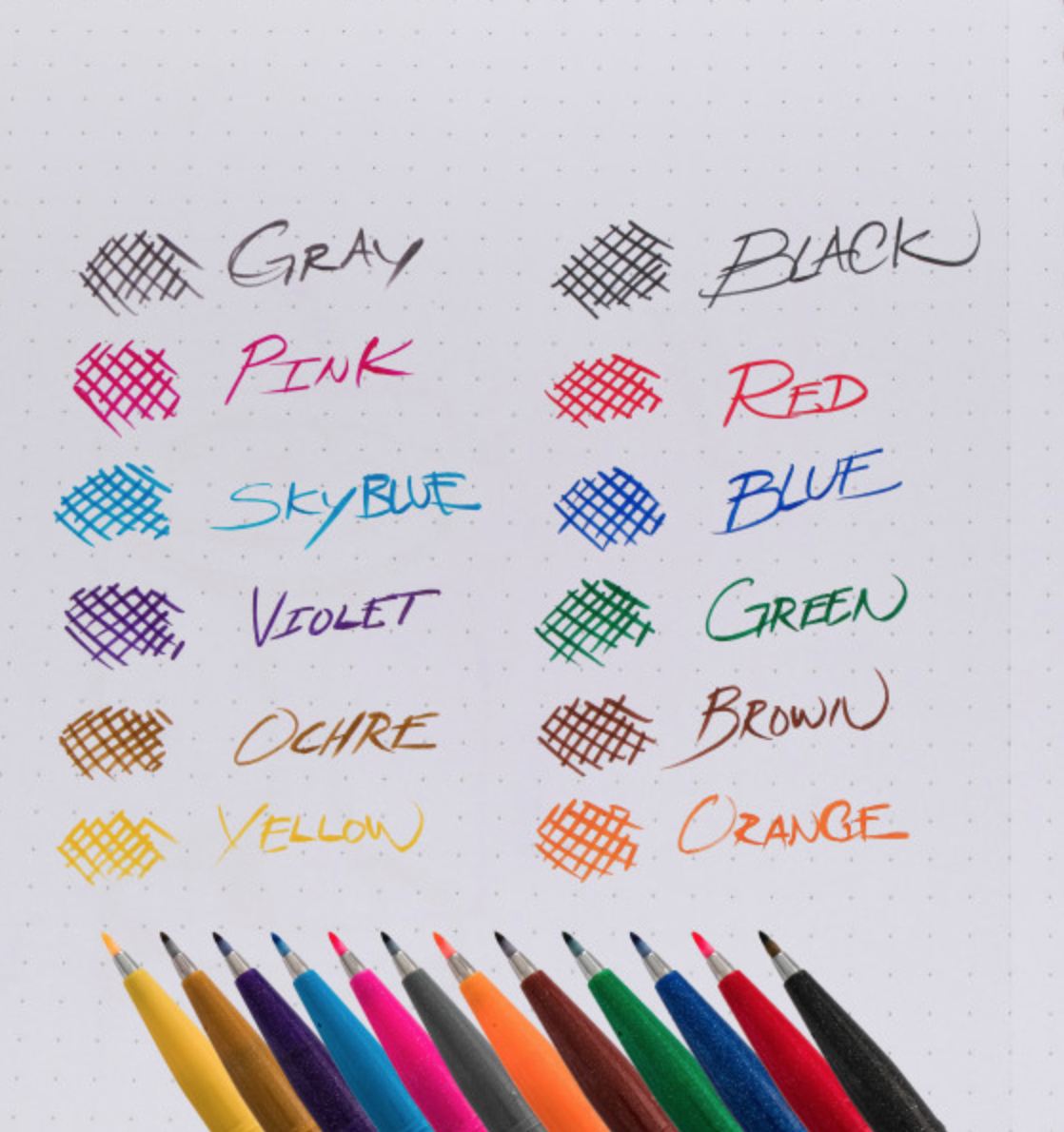Brush Sign Pen Set