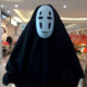 No Face Cosplay- Black