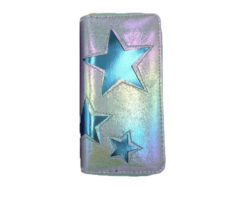 JR-293 Blue Star Wallet
