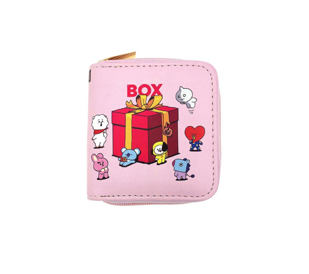 JR-408 BT21 Box Present Wallet