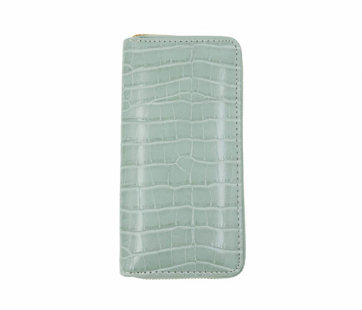 JR-754 Snake Skin Green Wallet