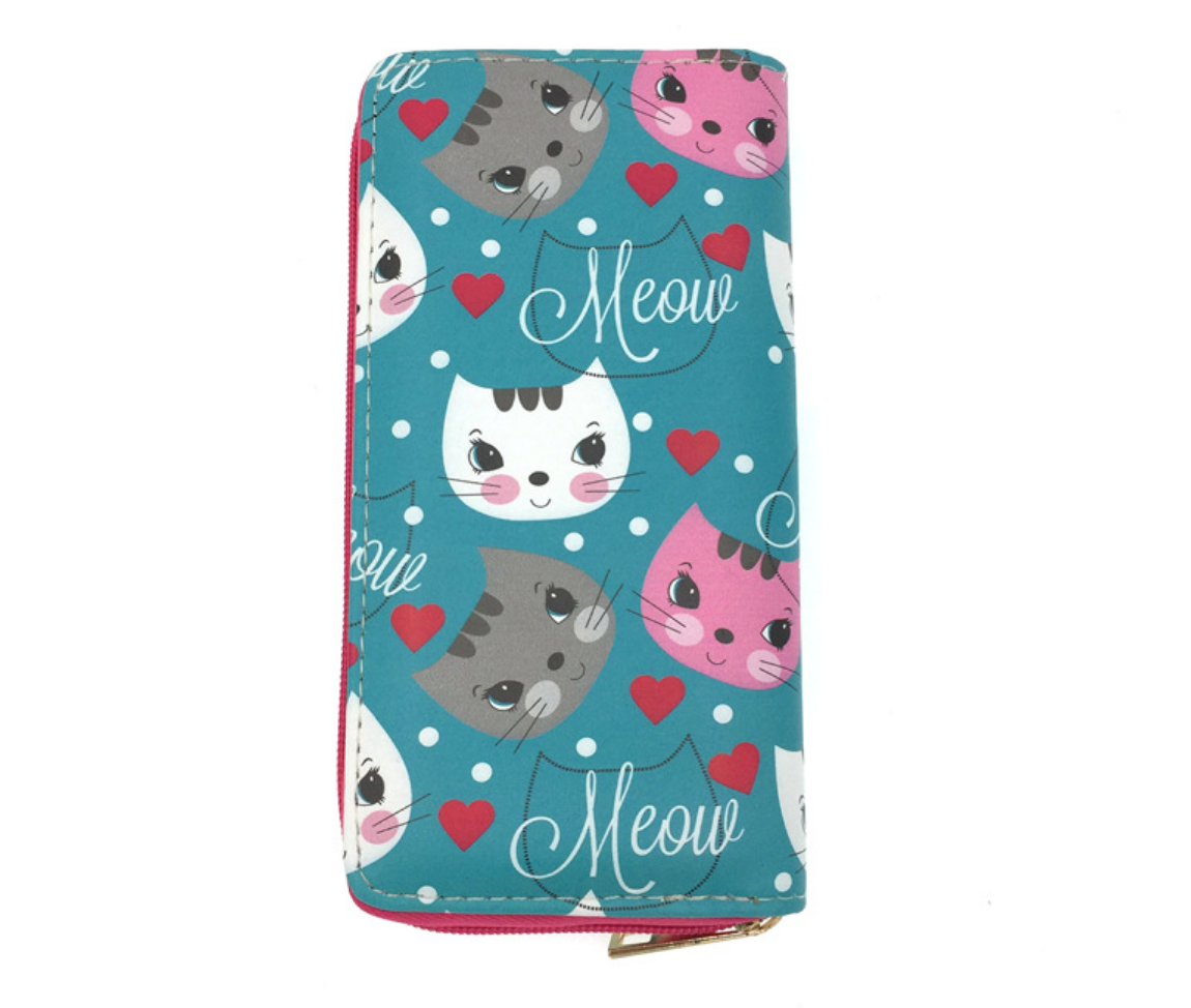 JR-556 Cat Meow Wallet