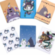 Totoro Pattern Passport Wallet