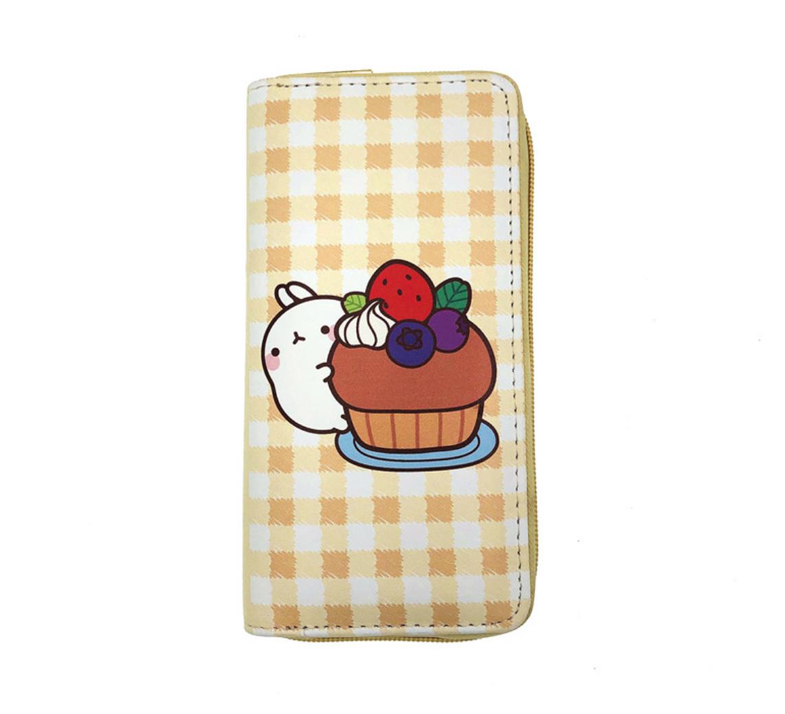 JR-436 White Rabbit Muffin Wallet