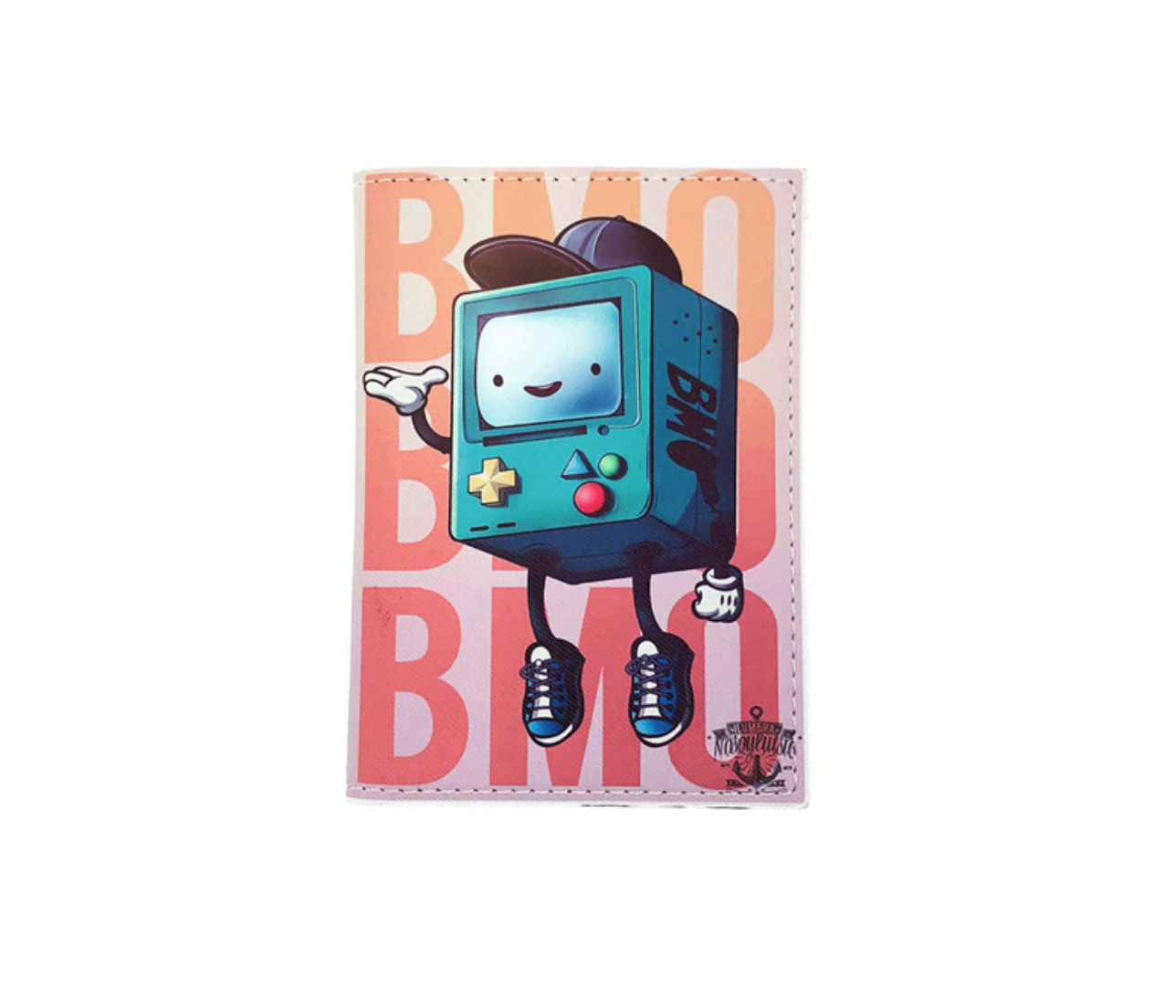 JR-433 Adventure Time Blue Passport Wallet