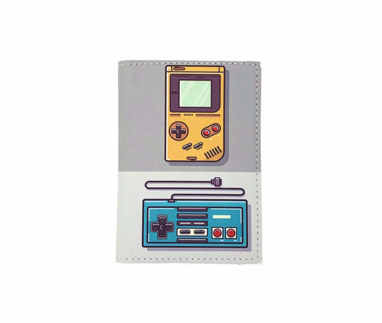 JR-433 Gameboy Passport Wallet