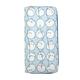 JR-432 White Little Rabbit Blue Wallet