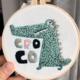 Cooco Crocodile 15cm Embroidery