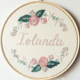 Jolanda 15cm Embroidery
