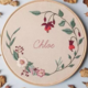 Chloe 15cm Embroidery