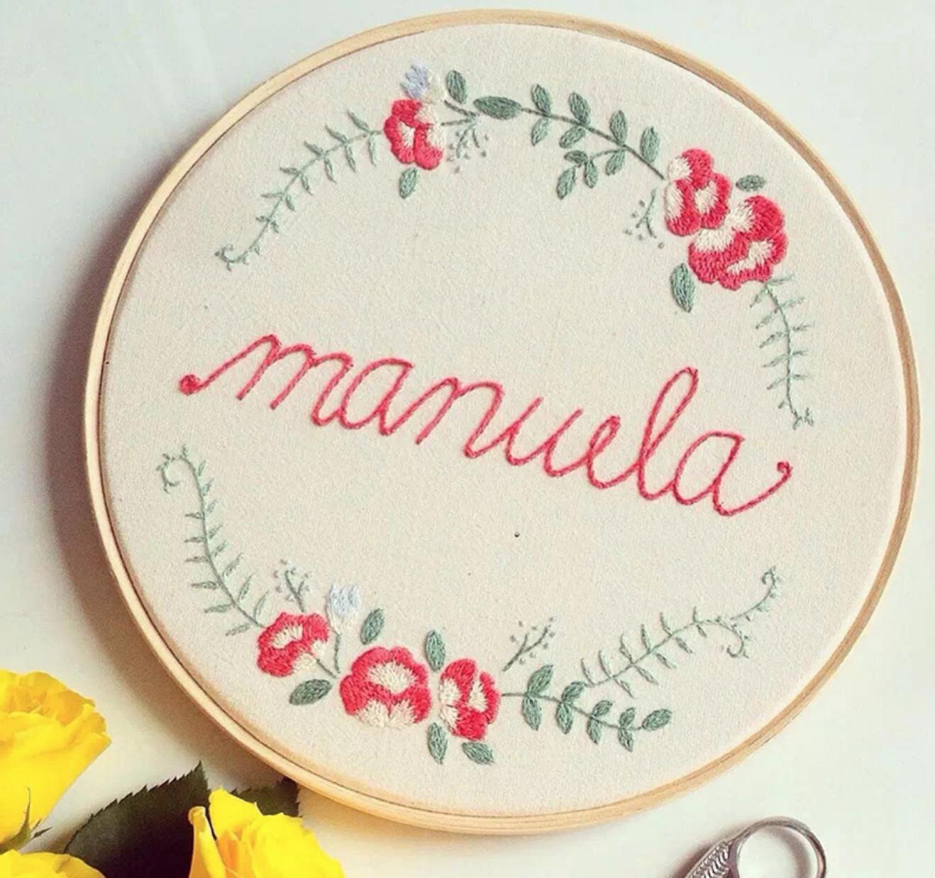 Manuela 15cm Embroidery