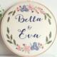 Bella and Eva 15cm Embroidery