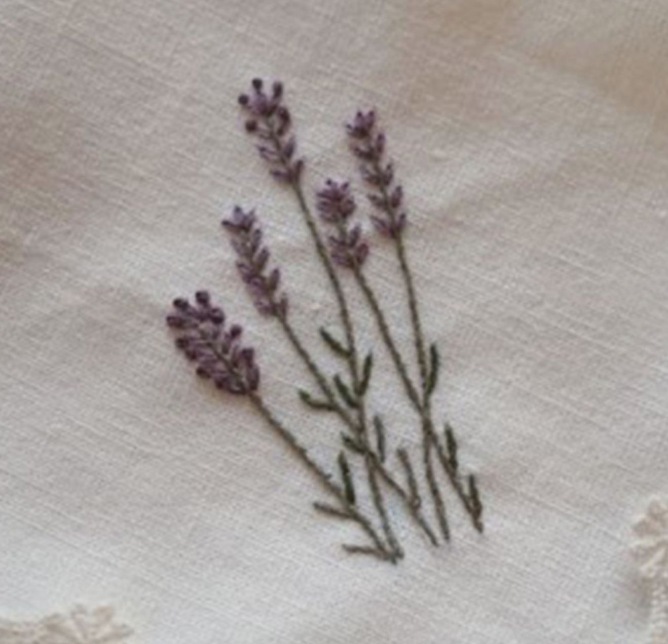 Little Lavender Embroidery
