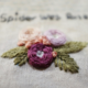 Spidery Was Here Floral Wreath Embroidery
