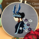 Deer Antler Lady Embroidery
