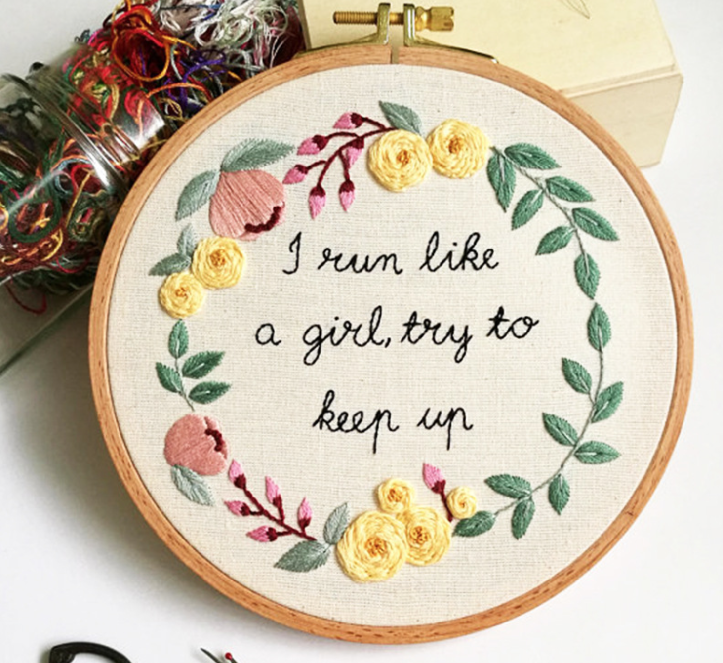 Keep Up Embroidery