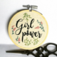 Girl Power Embroidery