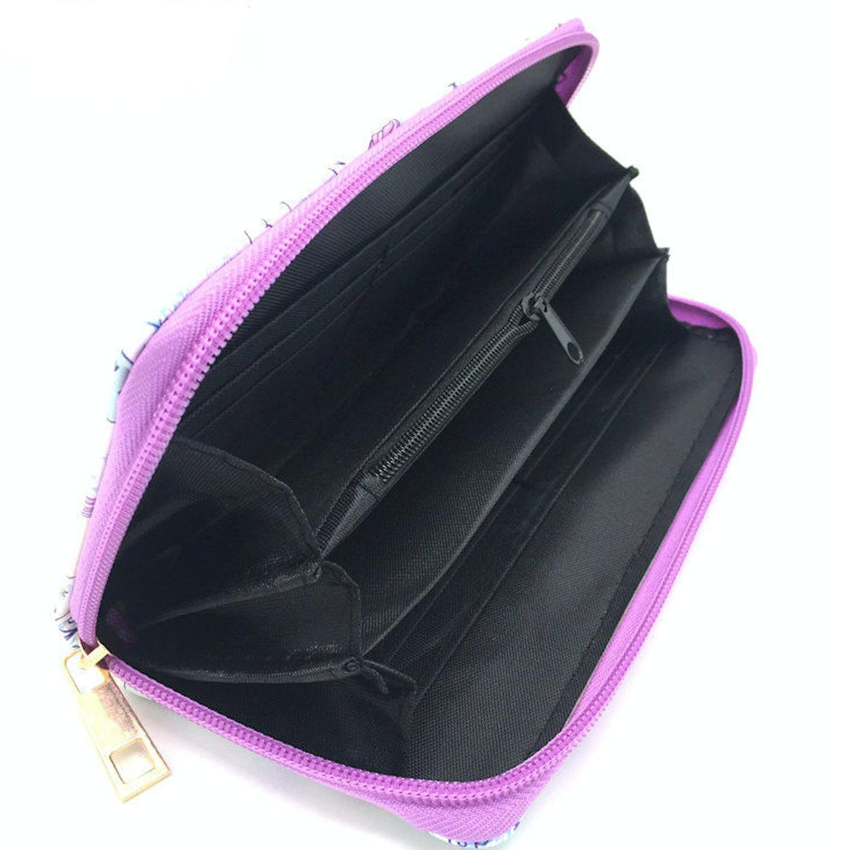 JR-320 Purple Palm Wallet