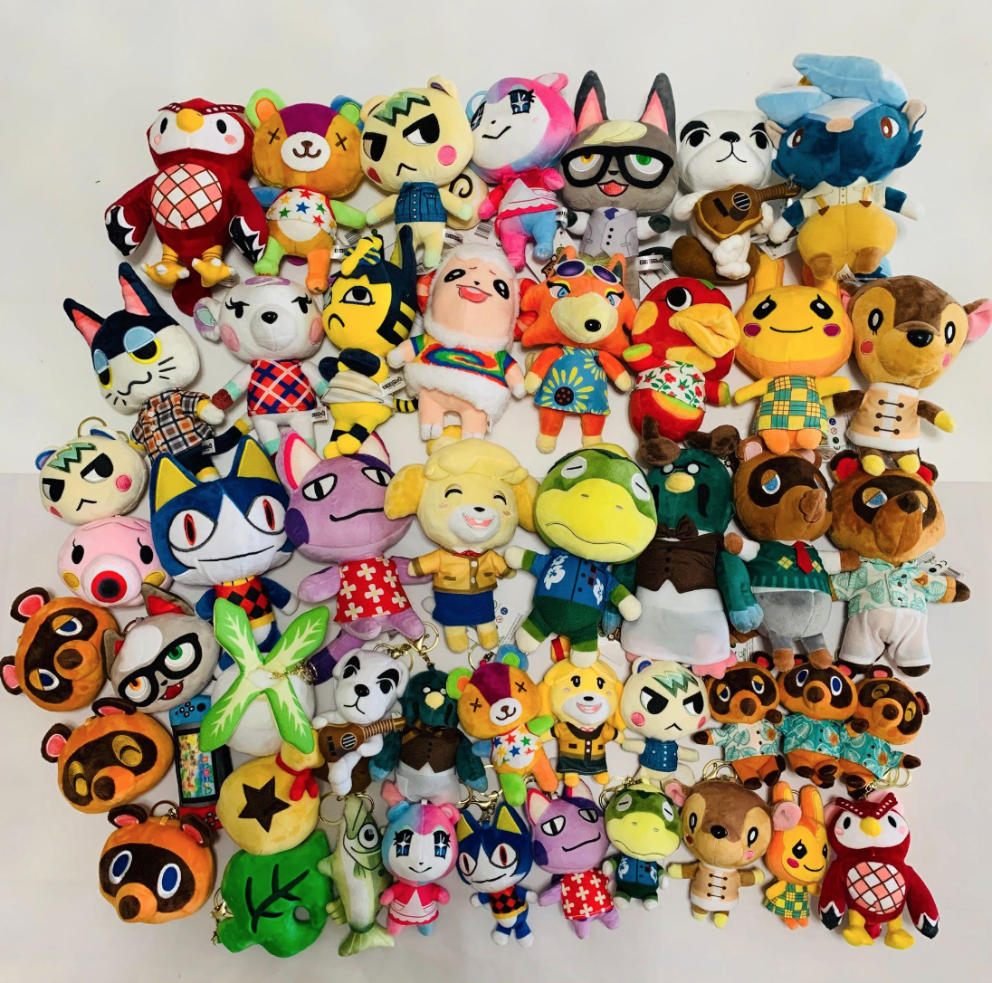 Animal Crossing Marshall Plush