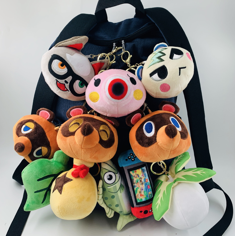 Animal Crossing Marshall Keychain