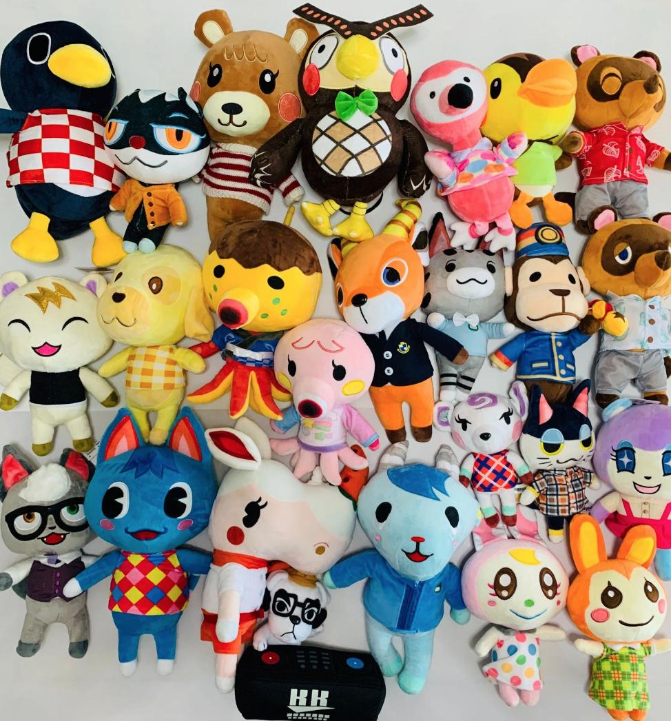 Animal Crossing Tom Nook Plush 30cm