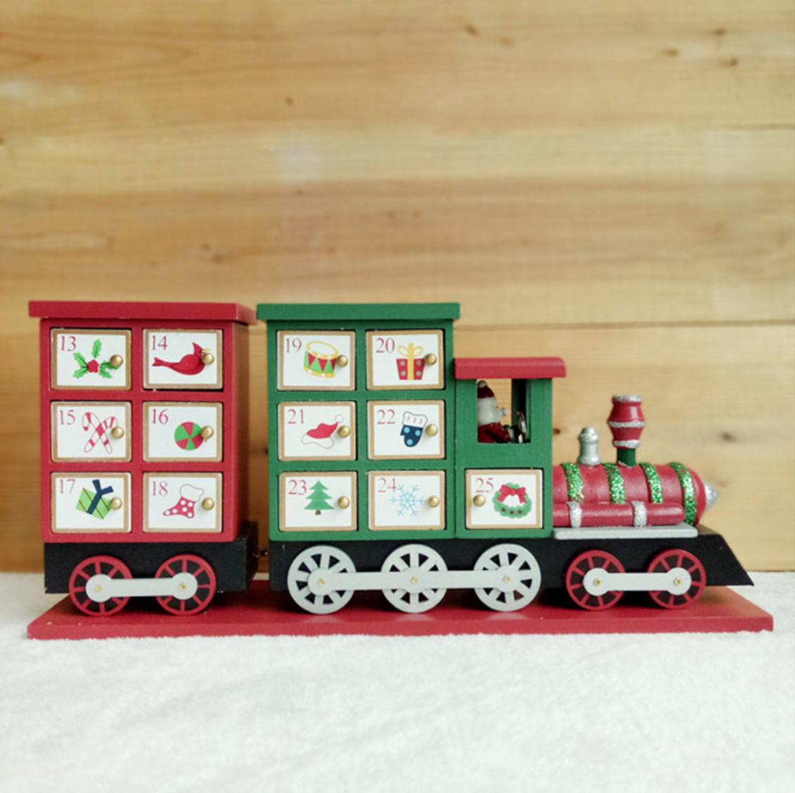 Merry Christmas Train Advent Calender