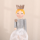 Ballerina Wooden Statue