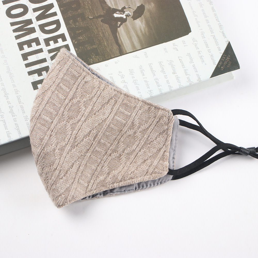 Winter Mask Extra Thick Wool Patter