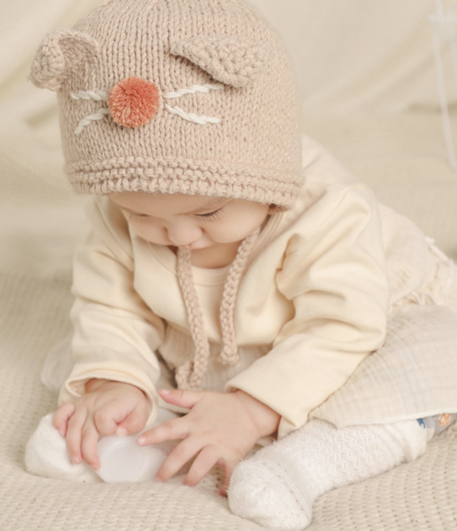 Kitty Knit Hat
