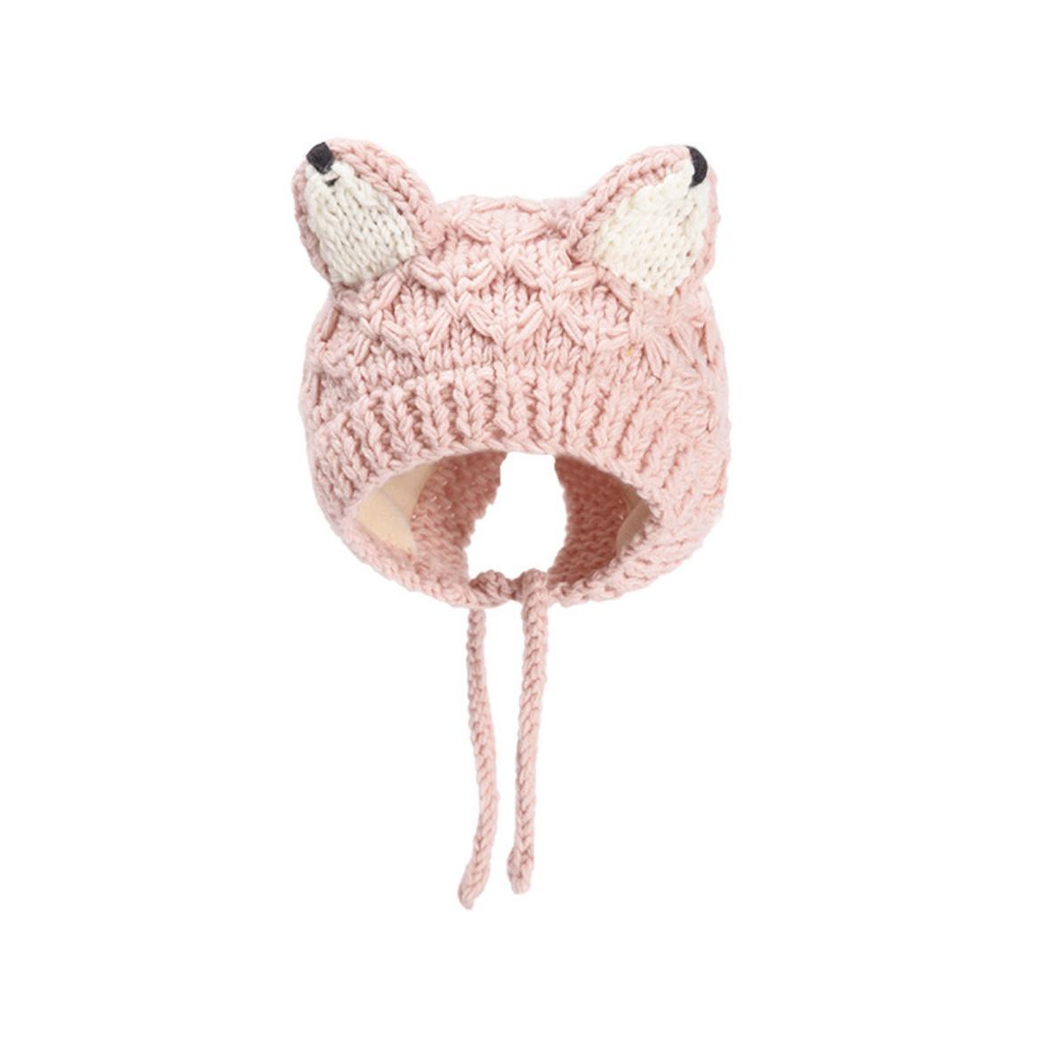 Fox Tip Ear Knit
