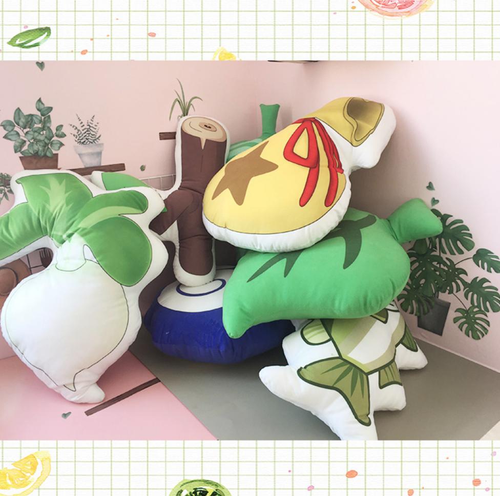 Animal Crossing Leaf Cushion 40cm