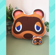 Animal Crossing Tom Nook Head Cushion 40cm