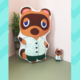Animal Crossing Tom Nook Shirt Cushion 40cm