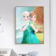 Frozen Elsa and Anna DIY Dot Painting