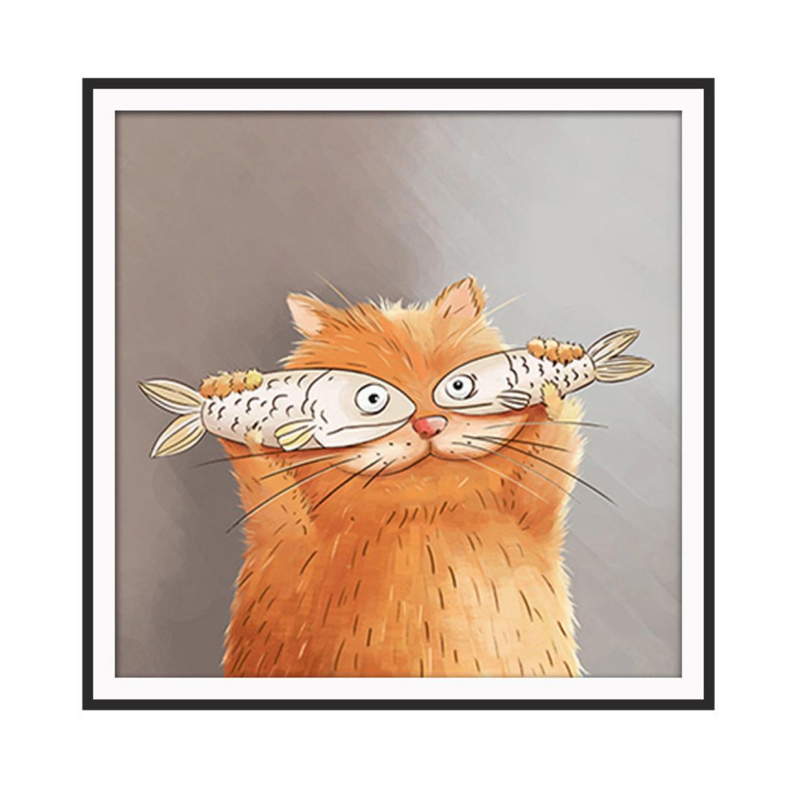 Cat Fish Eyes DIY