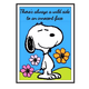 Snoopy DIY Dot Painting