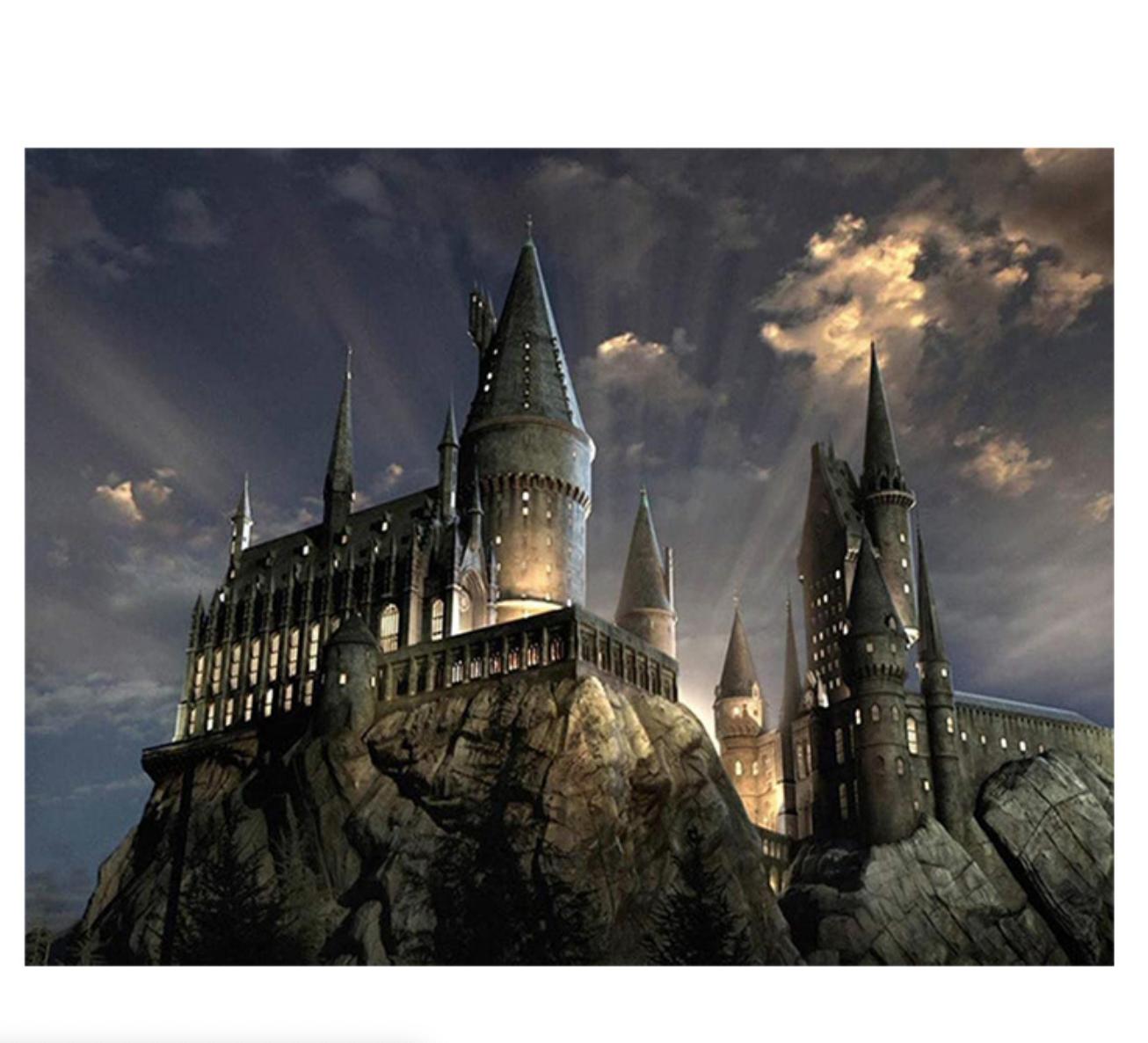 Hogwarts DIY Dot Painting