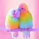 Colorful Parrots DIY Dot Painting
