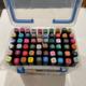 60 Color Marker Plastic Case