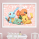 Baby Pokemon DIY Dot Painting