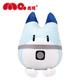 Blue Raccoon Big Boss Plush Toy