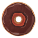 Chocolate Donut Plush Toy